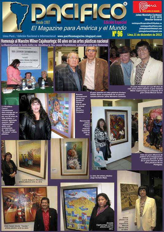 Pacífico Nº 96 Edición Especial Homenaje a Milner Cajahuaringa