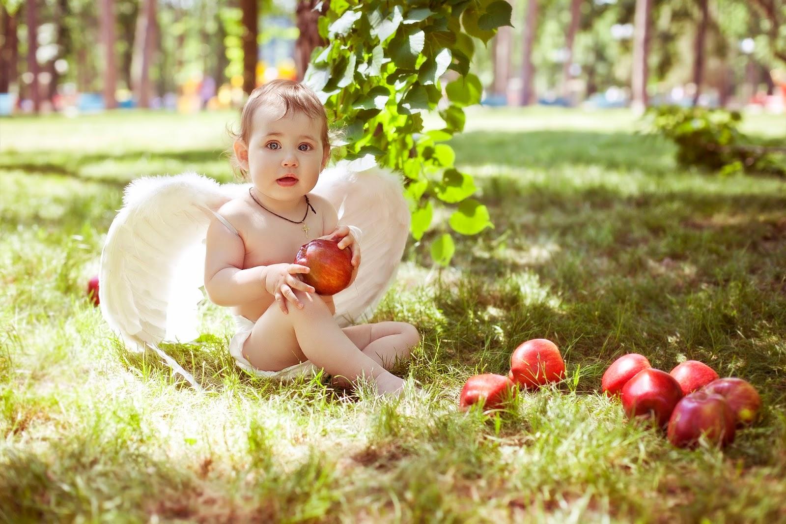 фото стопы годовалого ребенка