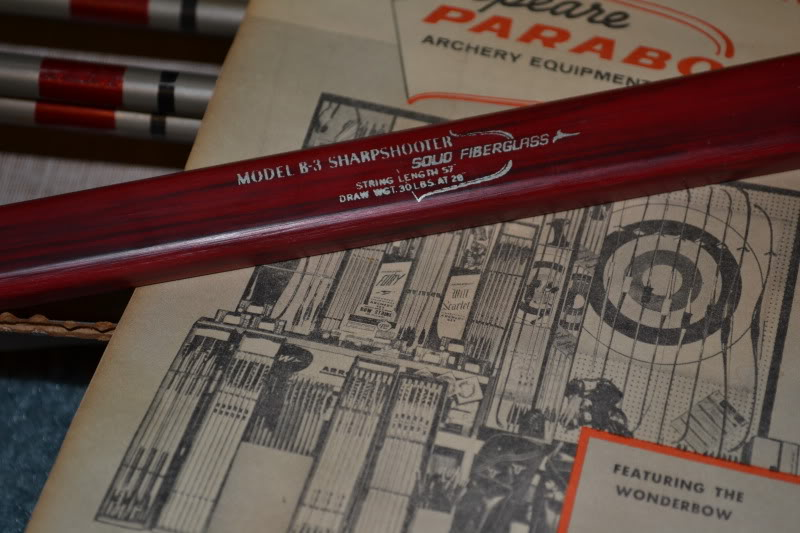Vintage Shakespeare Root Archery Shakespeare Parabow