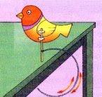 O pássaro equilibrista - Atividade experimental sobre equilíbrio estável e centro de gravidade