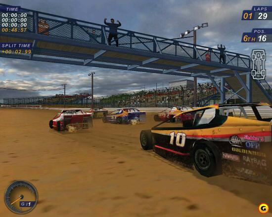 لعبة سباق سيارات ديرت تراك راسينغ Dirt Track Racing