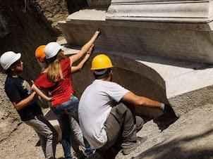 Découverte à Pompéi de la tombe d'un riche mécène organisateur de combats de gladiateurs