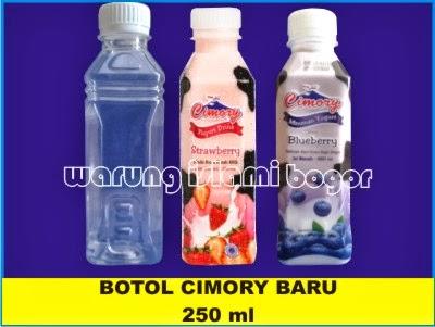 Inovasi Baru...!!! Botol Cimory 250 ml Untuk Sarikurma, Madu, Jus, Sirup, Yoghurt