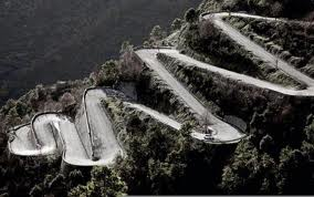 Very Difficult Road Of Transfagarasan Stock Photo, Picture And ...
