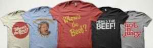 Free Wendy's T-shirt