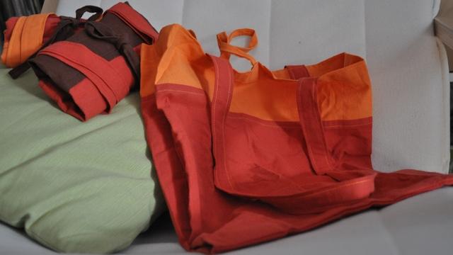 Šivanje torbe, francuskim šavom - 100 bofora