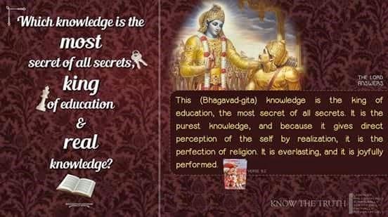 Bhagavad Gita - Real Knowledge
