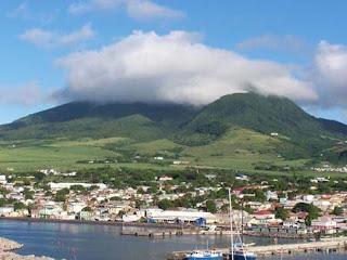 San Cristóbal y Nieves, Naturaleza