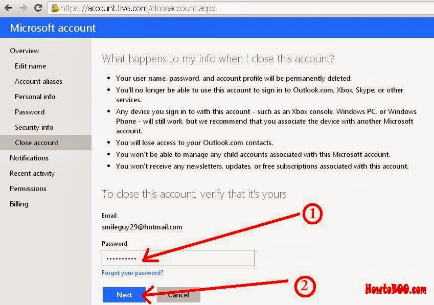 How To Delete Your Hotmail Email Account Permanently