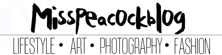 Misspeacockblog by Piluca