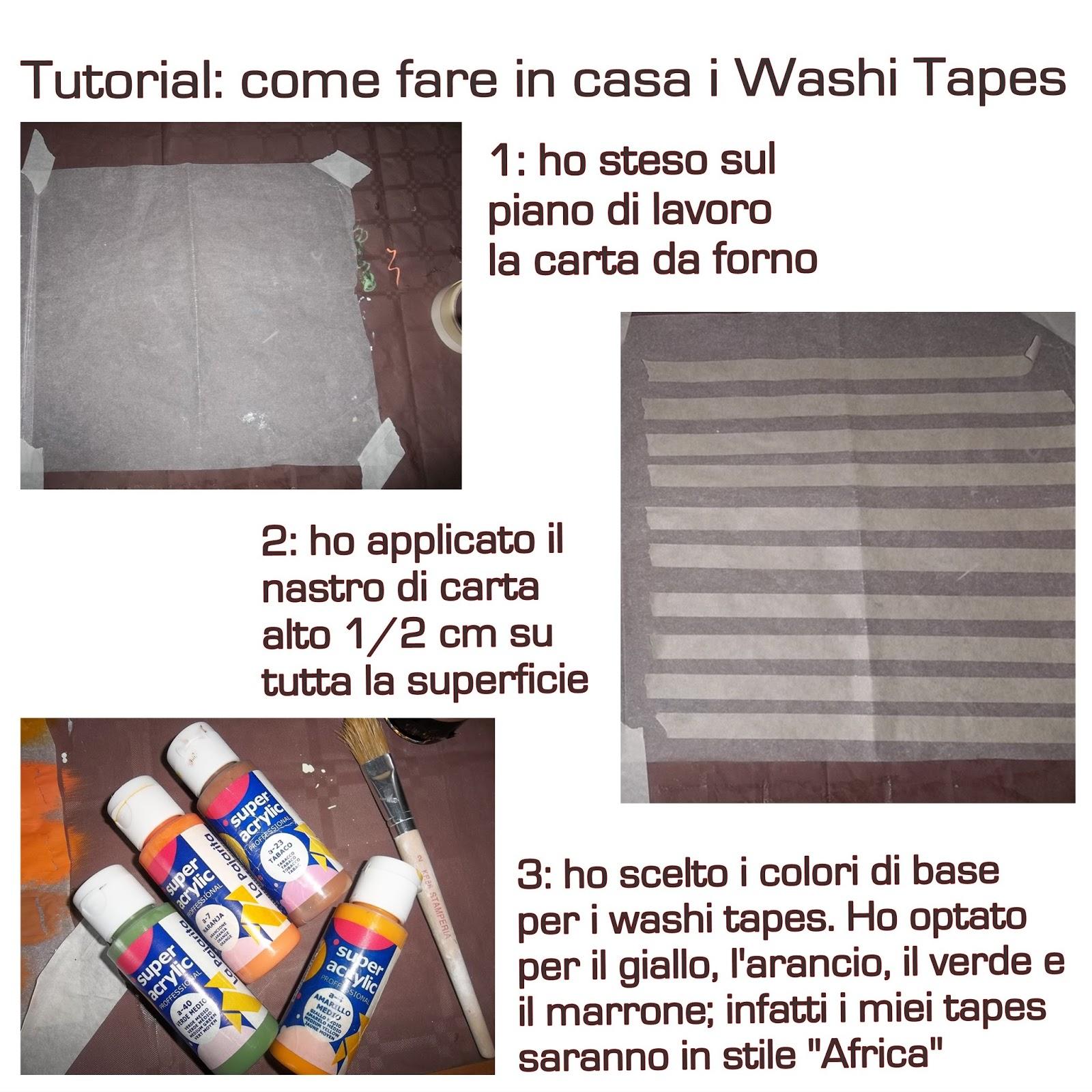 Come Fare Profumi Per La Casa : La ricicleria di chi tutorial washi tape come fare in