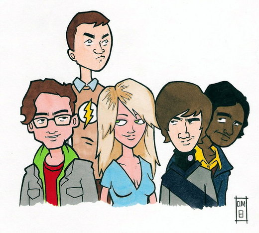 Big Bang Theory Group por emptypromises13
