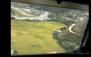 Landing at Paro Airport ( VQPR ) - Bhutan