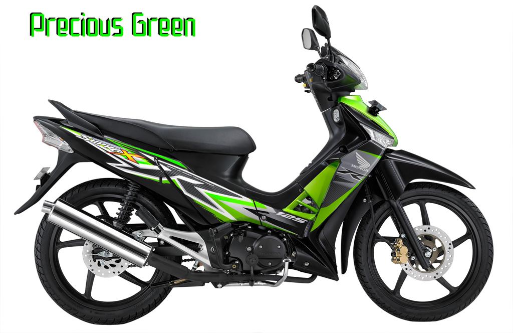 Honda SUpra X 125 R Precious Green, title=