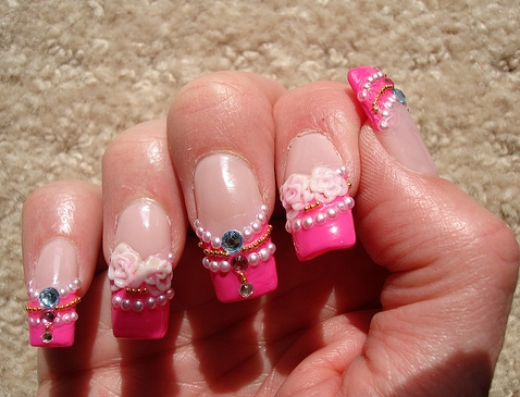 NailArt 101: Fantastic 3d Nail Designs