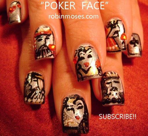 Robin moses nail art gaga nails pokerface nails poker nails robin moses nail art gaga nails pokerface nails poker nails las vegas nails nicki minaj nail art minaj nails superbass nails super bass prinsesfo Image collections