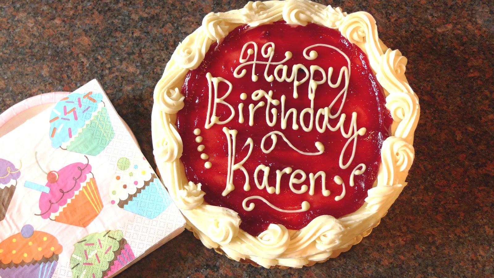 Happy Th Karen Cake
