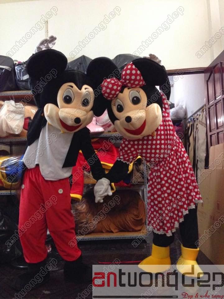 may bán thuê mascot chuột mickey