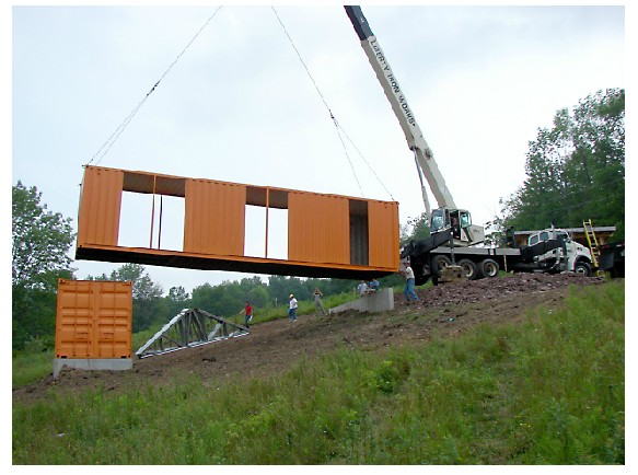 Tim Steel Structures - Livingston Manor, NY - Container House