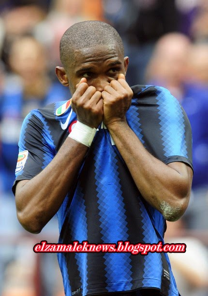 Eto Cameroun stricker of Chelsea