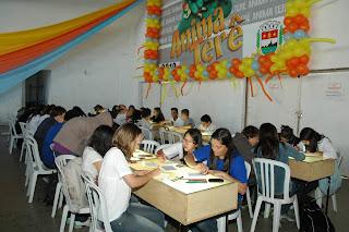 Festival Municipal de Animação reúne estudantes e professores no Ginásio Pedrão