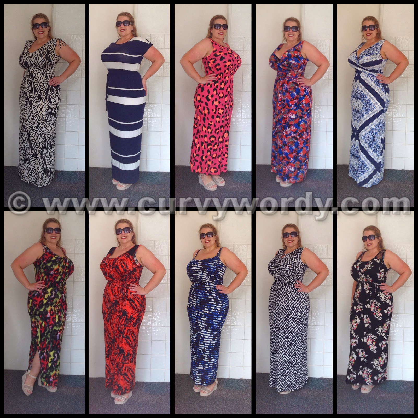 George at Asda Maxi Dresses – Summer 2014