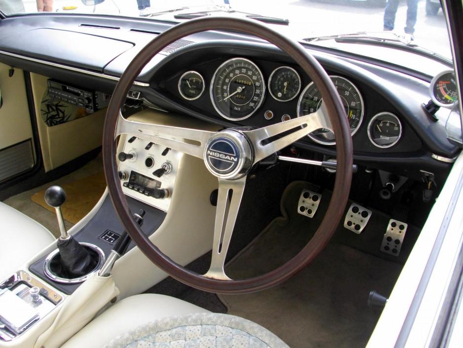 Nissan Silvia CSP311, wnętrza starych samochodów, motoryzacja z lat 60, nuotraukos, 日本車、スポーツカー、クラシックカー、国内専用モデル、日産