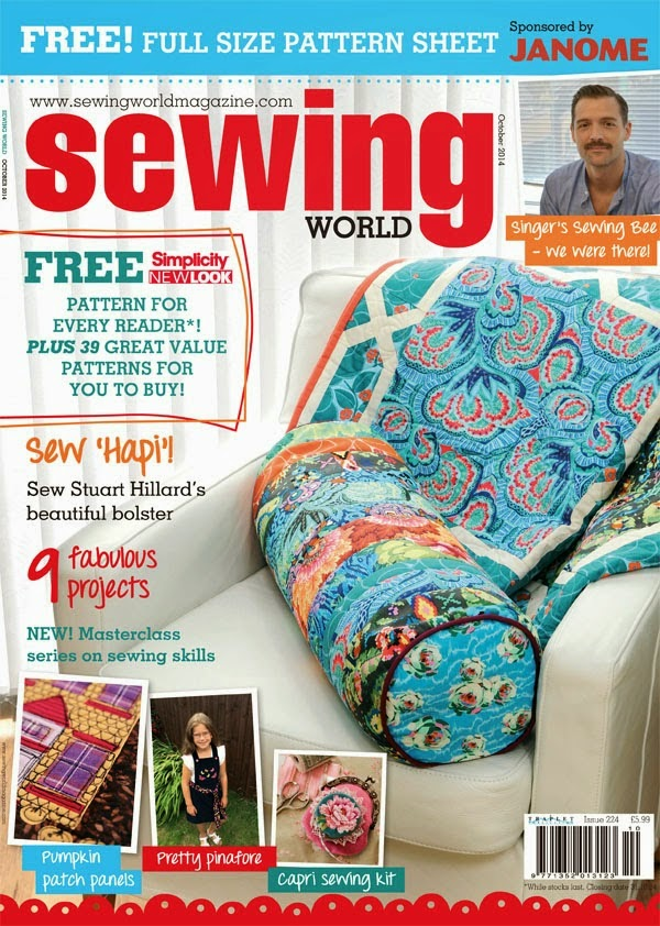 SewforSoul: Sewing World Magazine ~ SewforSoul Feature