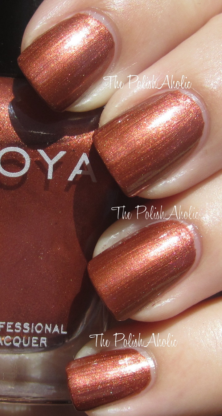 Zoya Shimmer Nail Polish Swatch - Creative Touch