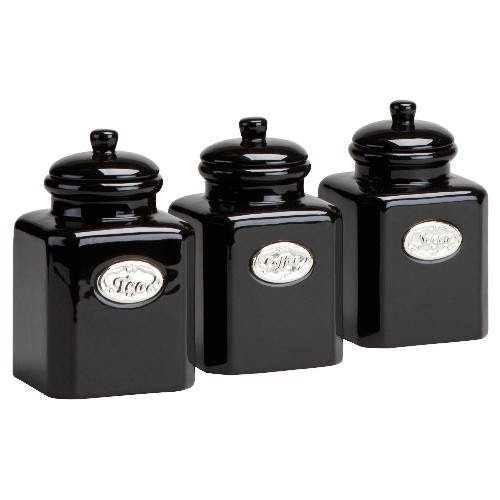 Tesco Country Kitchen Tea, Coffee, Sugar Bundle