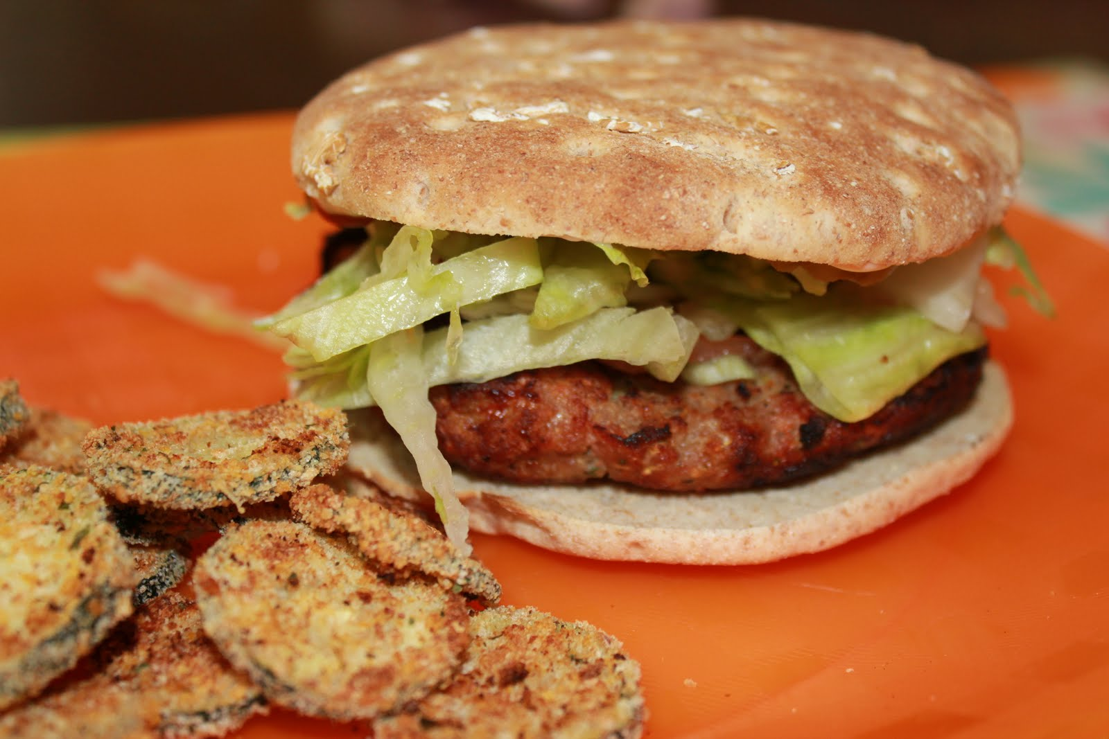 Momma's Playground: Turkey Burgers with Zucchini Recipe