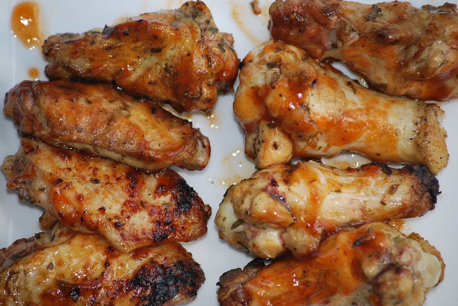 My story in recipes herbed grilled chicken wings for Good side dishes for grilled chicken