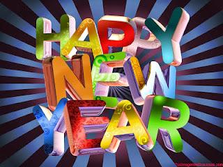 Frases De Feliz Año Nuevo:AMOR Que Este Año Nuevo Te Traiga Muchas Bendiciones