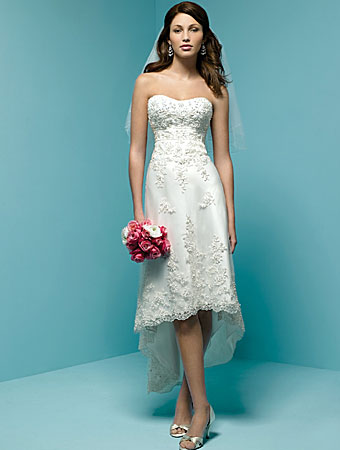 Big Shark: Having Perfect Look with Short Wedding Dresses