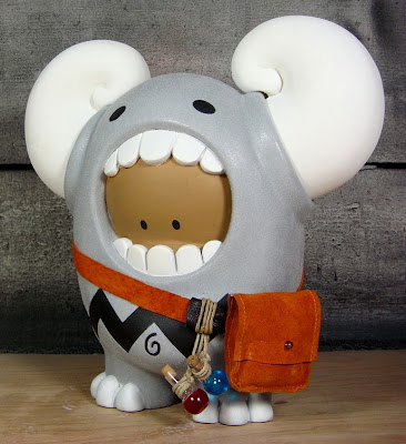 The Chardmonster Custom Vinyl Figure by Huck Gee