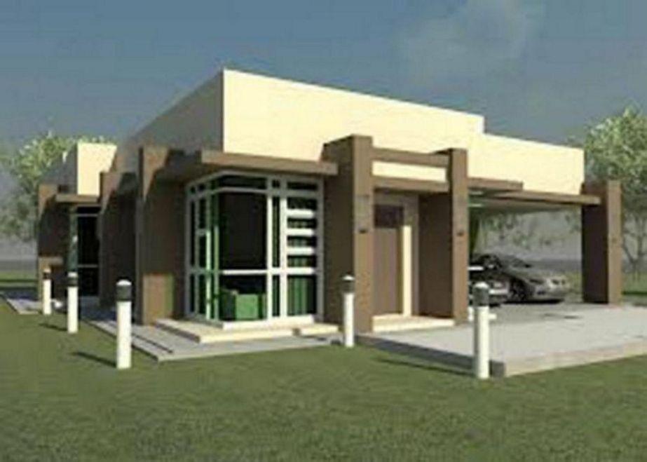 desain rumah 1 lantai terbaru