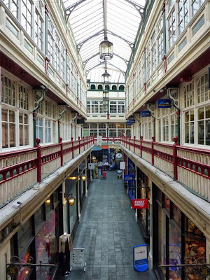Galería comercial (Castle Arcade) de Cardiff