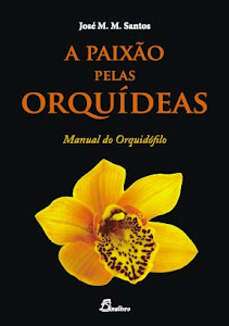 O meu novo livro de Orqudeas