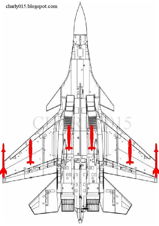 El J-15 es Mejor que el F/A-18 en Combate Aéreo y Ligeramente Inferior en Términos de ataque contra Objetivos Marítimos Su-33+plano+bombas+china