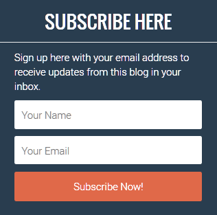 Cara Membuat Widget Email Subscribe Flat Ui