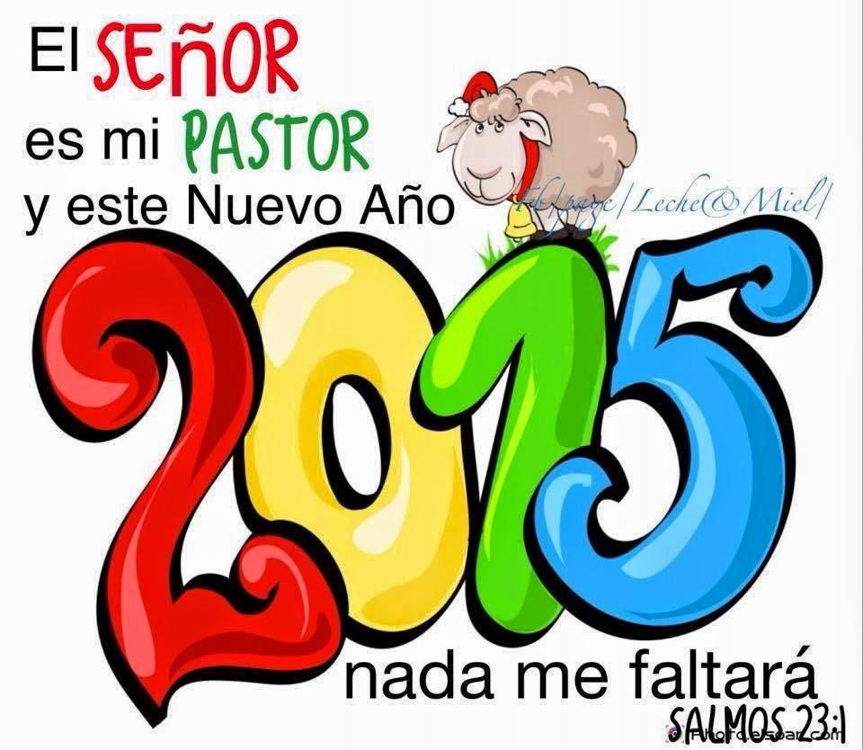 Feliz Año 2015 En Cristo Jesus