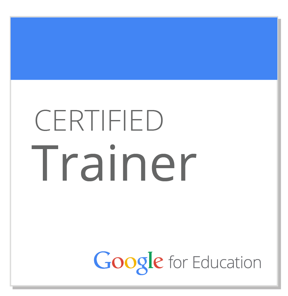 Google Education Certified Trainer
