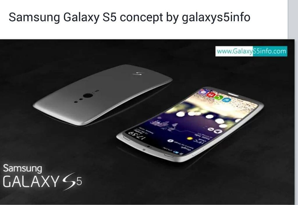 Konsep Desain Samsung Galaxy S5 Telah Muncul