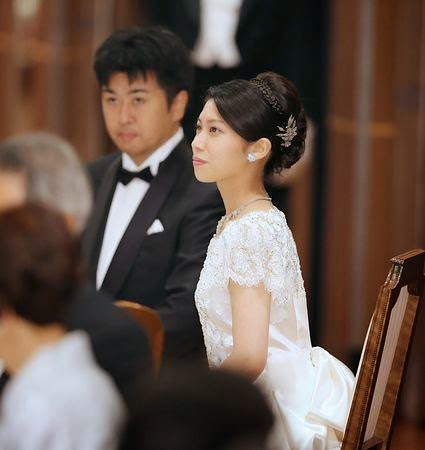 The wedding banquet for Mr Kunimaro Senge and Ms Noriko Senge was took place at Hotel New Otani in Tokyo.
