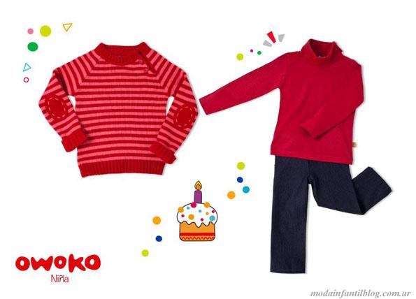 sweaters para niñas owoko invierno 2013