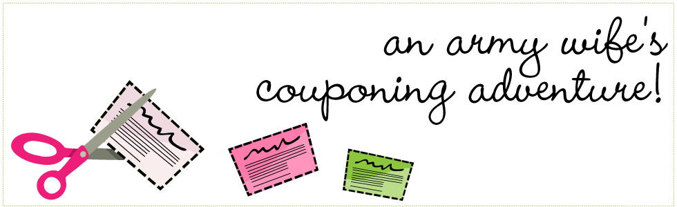 An Army Wife's Couponing Adventure!