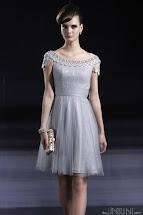 Silver Short Dresses