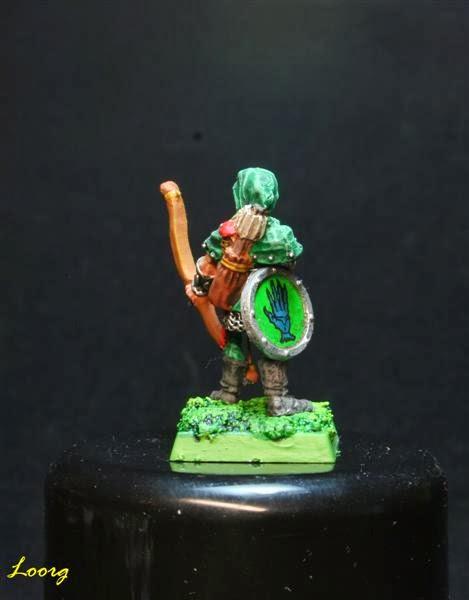Otra vista de RRD4 - Skarloc's Wood Elf Archers  pintado