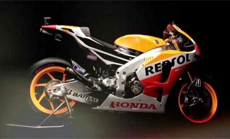Gambar motor balap Honda RC213V