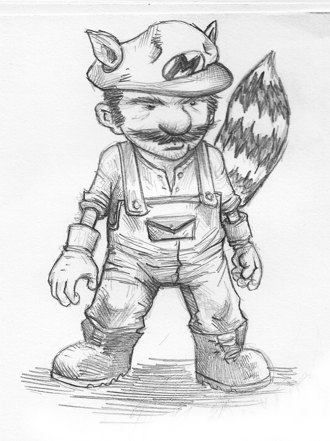 how to draw really good mario